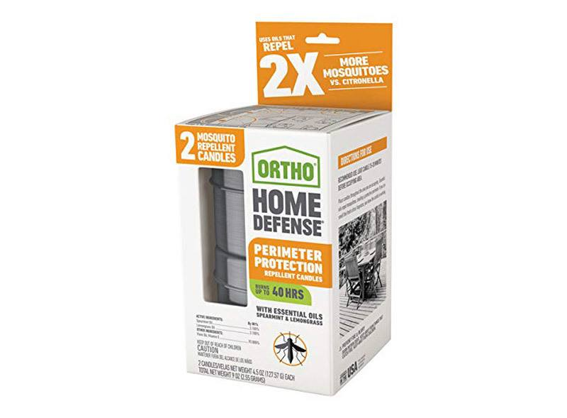 Ortho Home Defense Mosquito Perimeter Protection Candles